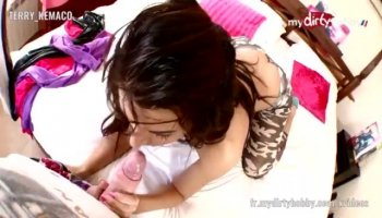 Dudes pussy pounding is making beauty very moist