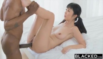 Hairy Asian With Tits Loves To Fuck
