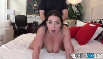 Skyla Novea rode that leather stretcher reverse cowgirl style
